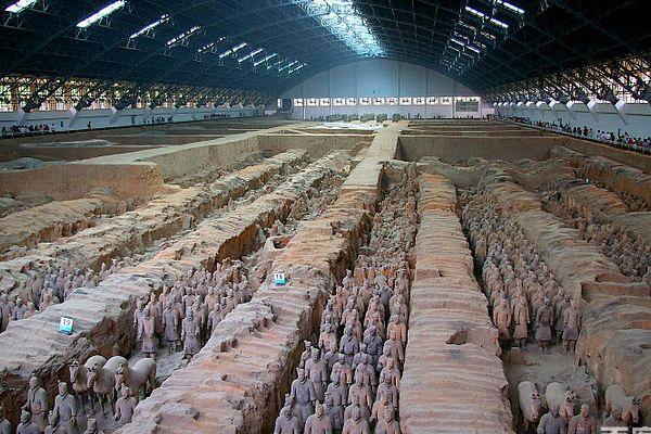 西安兵马俑、华清宫、黄帝陵、壶口双高6日游